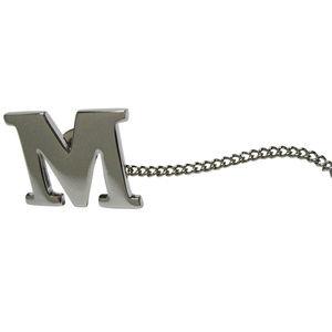Letter M Tie Tack
